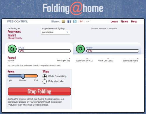 folding at home mac client