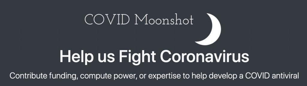 COVID Moonshot logo